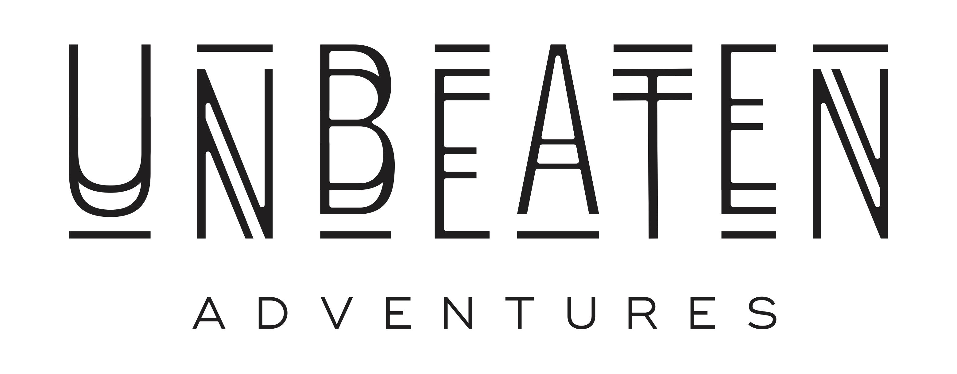 logo Unbeaten adventures mountainbike vakantie