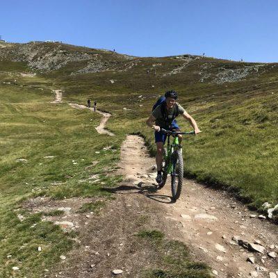 mountainbike reis Saalbach-hinterglemm Hackelberg trail